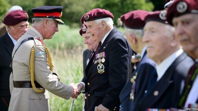 Ceremonies mark 70 years since D-Day