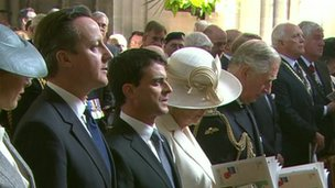 David Cameron, Prince Charles and the Duchess of Cornwall