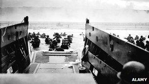 D Day landings 1944