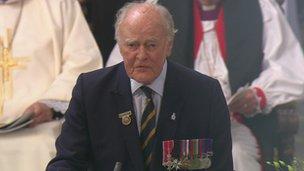 Brigadier David Baines MBE