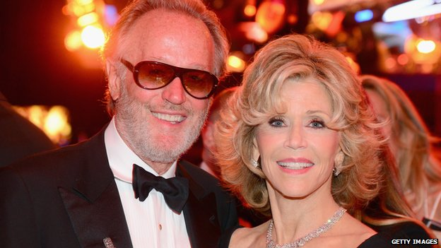 Peter Fonda and Jane Fonda