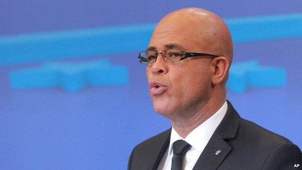 File photo: President Michel Martelly
