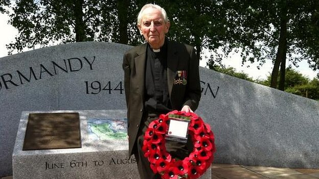 D-Day veteran Dick Sargent