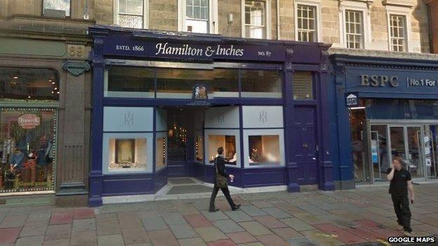 Hamilton and Inches
