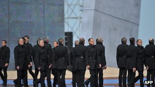 Artists perform at D-Day commemoration