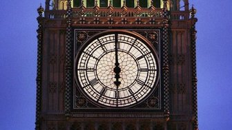 Clock face - Westminster
