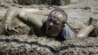 Entrant in a Tough Mudder event