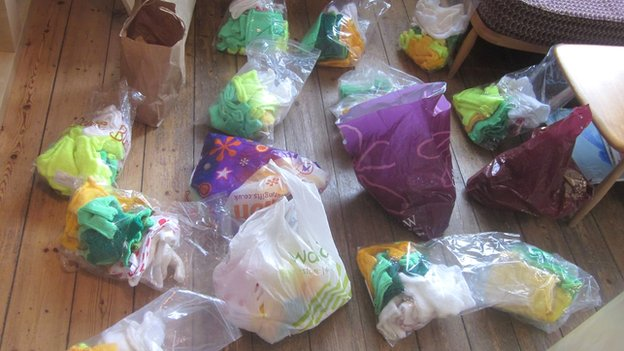 Bags of knitting