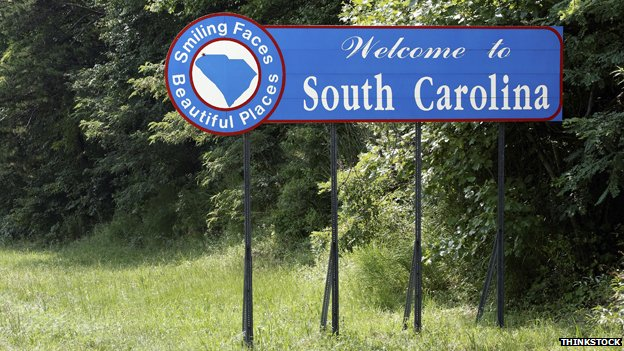 South Carolina sign