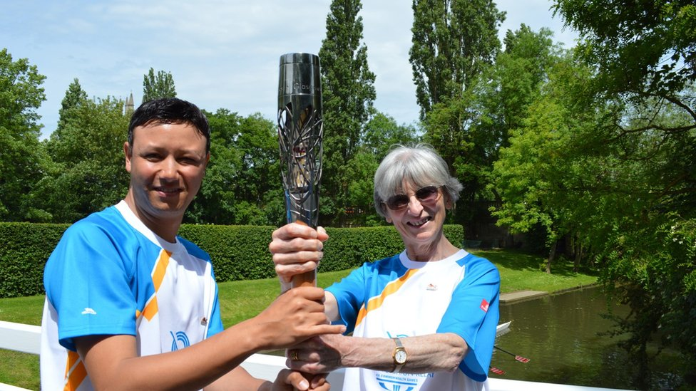 Queen's Baton Relay Oxford