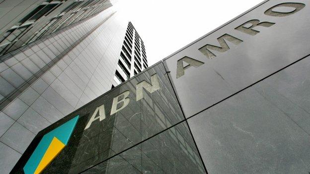 Head office of ABN Amro bank