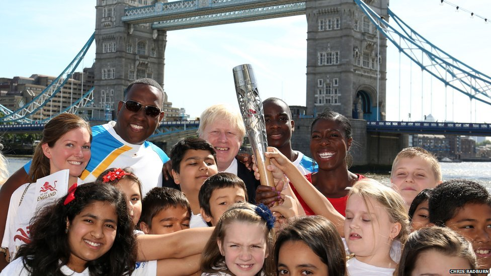 Queen's Baton Relay London