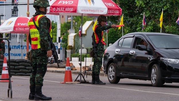 Checkpoint in  Udon Thani