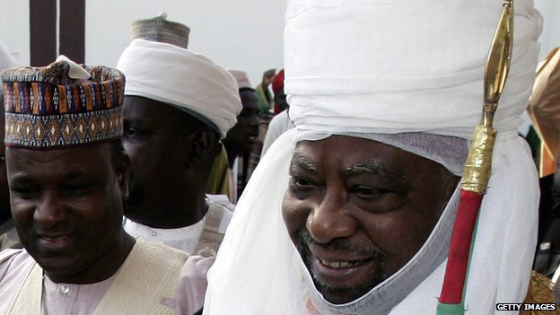 The Emir of Kano, Ado Bayero, pictured in 2006