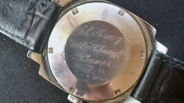 The watch which once belonged to Mr Chuayffet