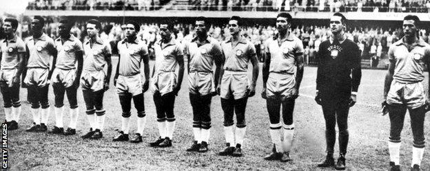 Brazil in 1958