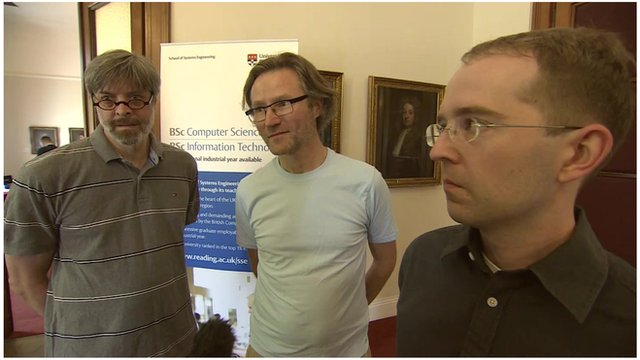 Scientists compete in Turing Test