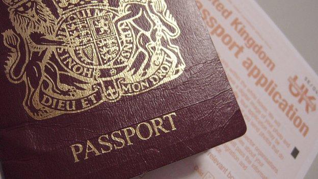 UK Passport and application