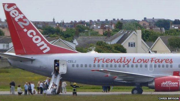 Plane evacuation