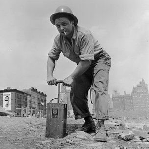 US quarry worker (1950)