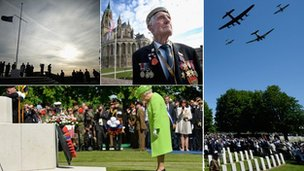 Key moments of D-Day 70th anniversary