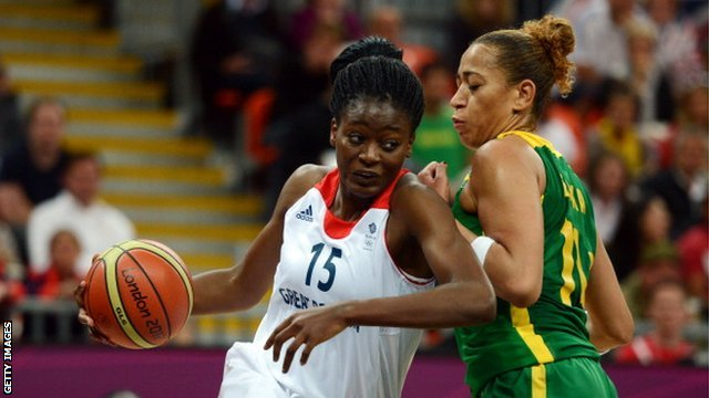 Temi Fagbenle Great Britain Basketball
