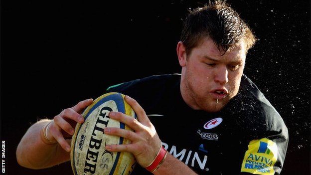 Saracens forward Hayden Smith