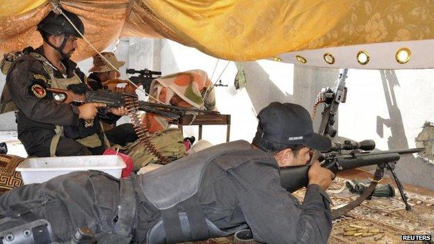 Iraqi forces in Ramadi, 24 May