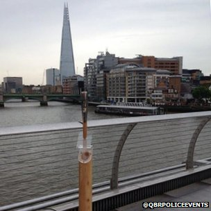 Queen's Baton and the Shard