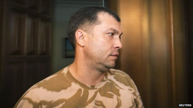Insurgency leader Valery Bolotov, 7 June