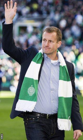 Former Celtic striker Harald Brattbakk