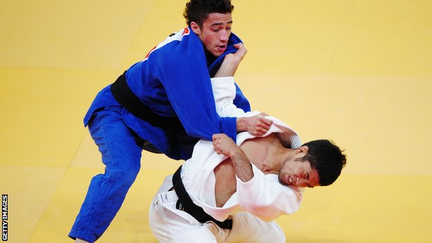 Judo medallist Ashley McKenzie