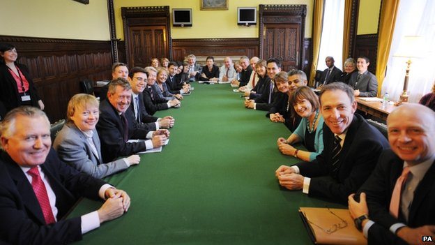 Shadow cabinet meeting