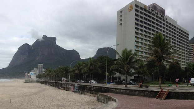 Royal Tulip Hotel in Rio
