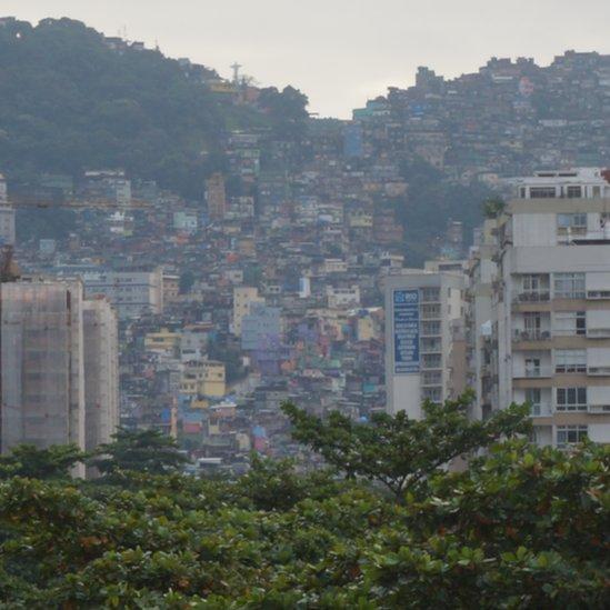 Rocinha favela in Rio