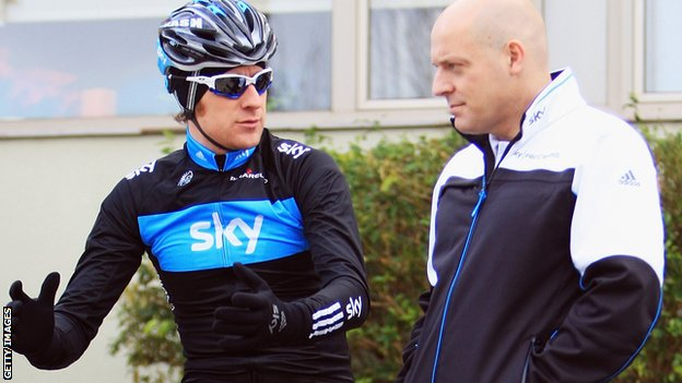 Sir Bradley Wiggins, Sir David Brailsford
