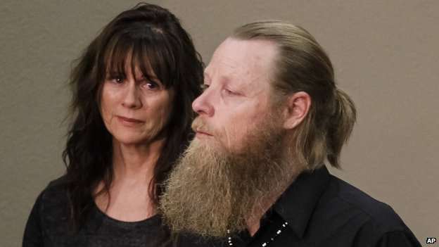 Bob Bergdahl and his wife Jani speak to the media on 1 June 2014