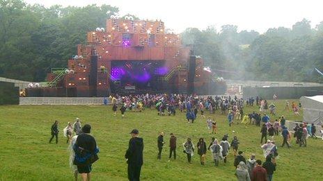 Parklife Weekender festival stage