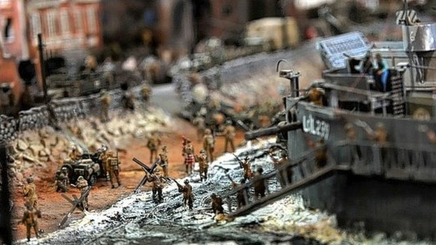 The D-Day model