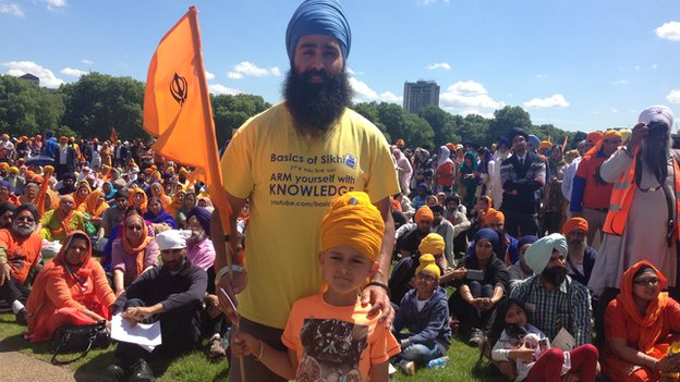 Sikhs march for Amritsar victims