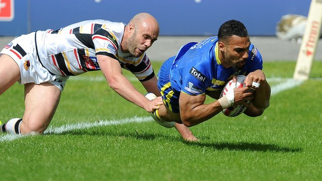 Challenge Cup: Bradford Bulls 10-46 Warrington Wolves