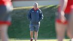 Warren Gatland oversees a Wales training session in South Africa.