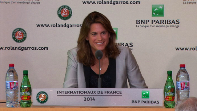 Andy Murray's new coach Amelie Mauresmo
