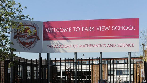 Park View School in Birmingham
