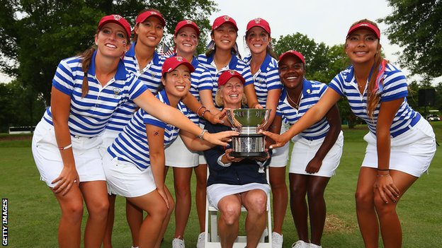 US Curtis Cup team