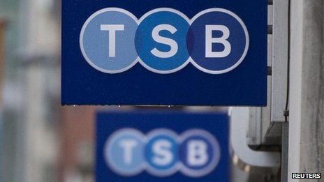 TSB sign