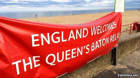 Team England banner