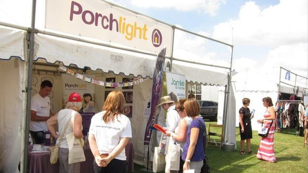 Porchlight at the Kent County Show