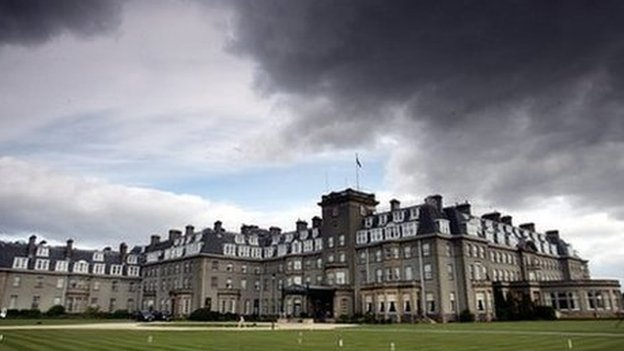 Gleneagles will be the venue for next year's Ryder Cup golf competition