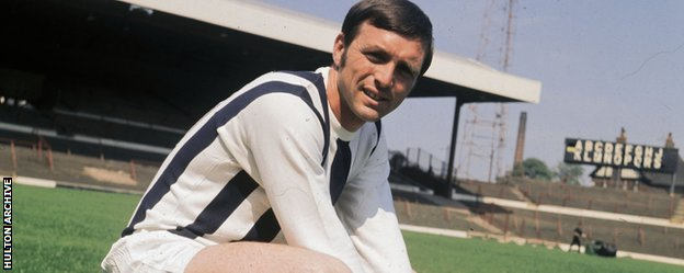 Former West Brom and England forward Jeff Astle
